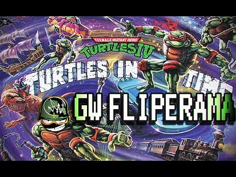 Santa Tartaruga!!! GW FLIPERAMA(Teenage Mutant Ninja Turtles IV)