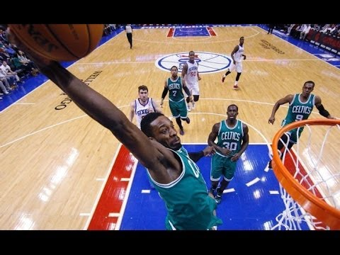 Jeff Green 36 points vs Philadelphia 76ers 2/5/2014 - Full Highlights - [HD]