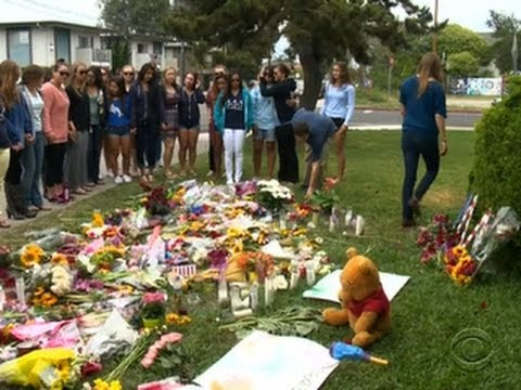 Santa Barbara students mourn shooting victims