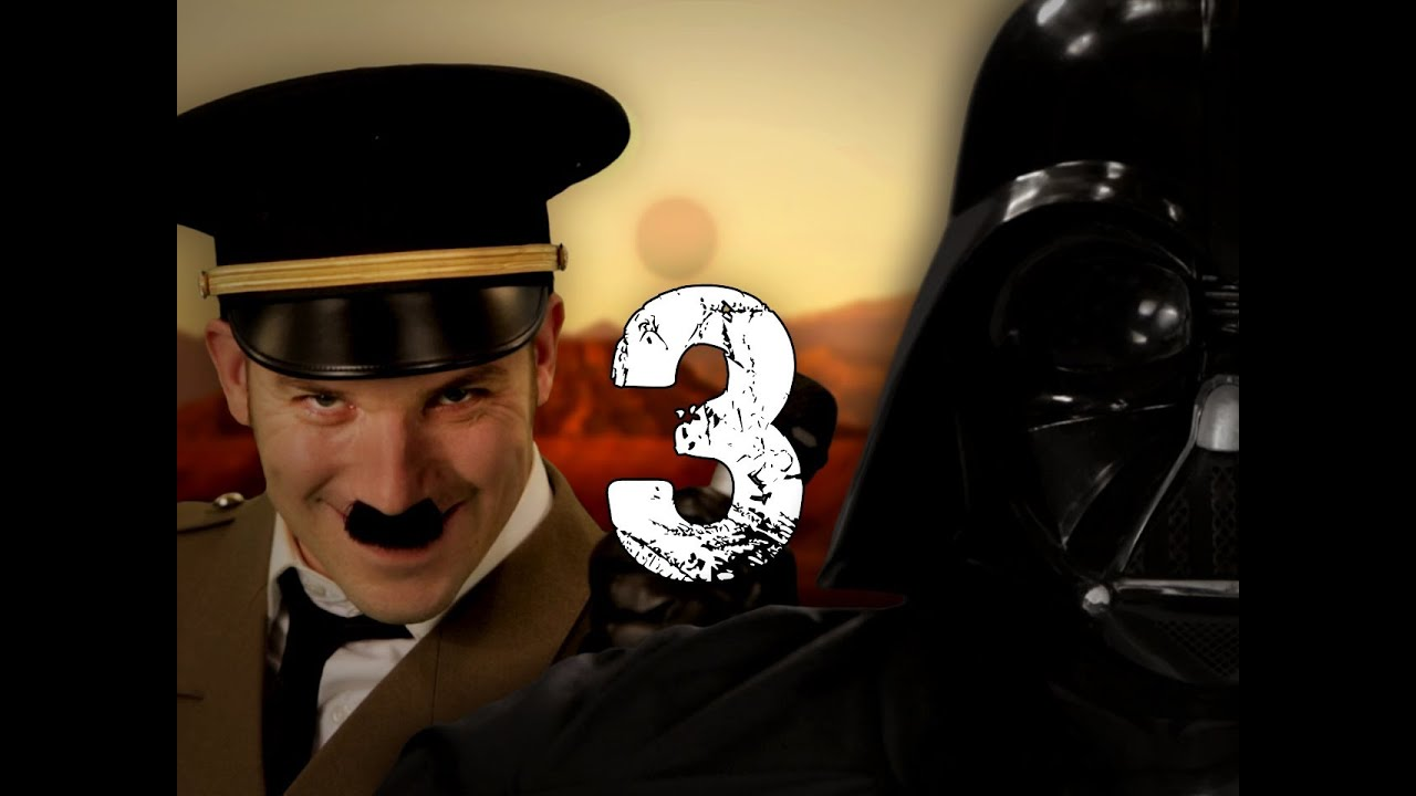 Epic Rap Battles of History: Hitler vs Vader, star wars, hitler, Détente,  geek