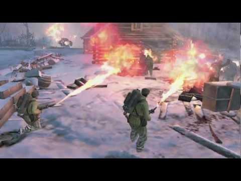 Первый геймплейный трейлер Company of Heroes 2