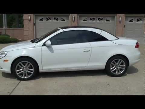 2008 VOLKSWAGEN EOS 2 0T HARD TOP CONVERTIBLE FOR SALE SEE WWW SUNSETMILAN COM - YouTube