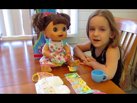 Baby Alive Real Surprises Baby Demo Youtube
