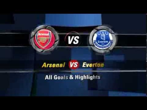 HD Arsenal 4-1 Everton ~ ALL GOALS & Highlights