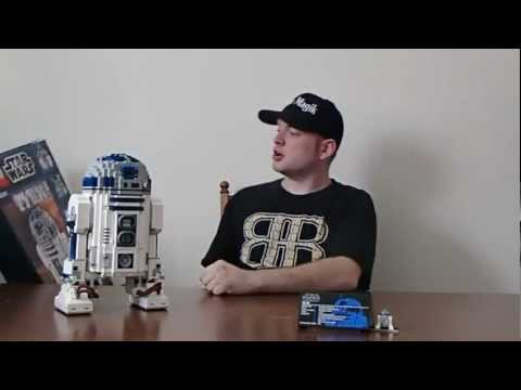 LEGO Star Wars 10225- Ultimate Collector's Series R2-D2 - Speed build video!