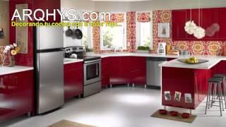 ¿Cómo decorar una cocina? Iluminación, decoración, colores, reformas, etc.