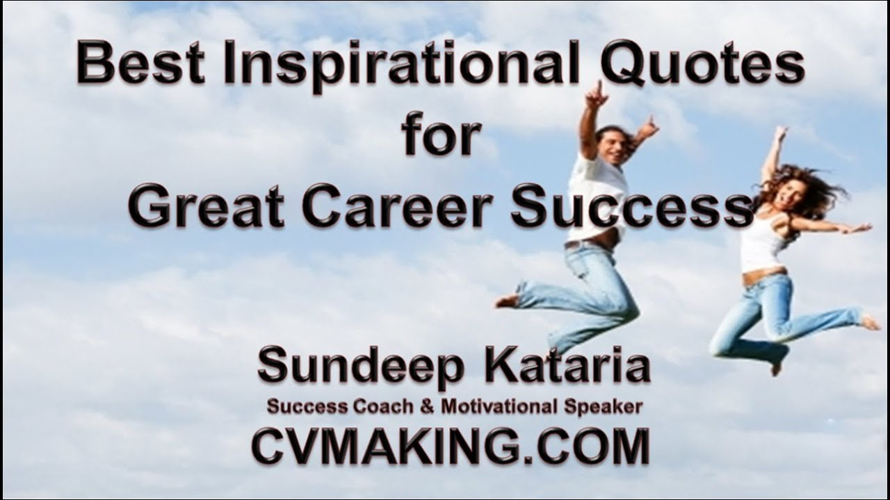 best inspirational quotes for great career success youtube