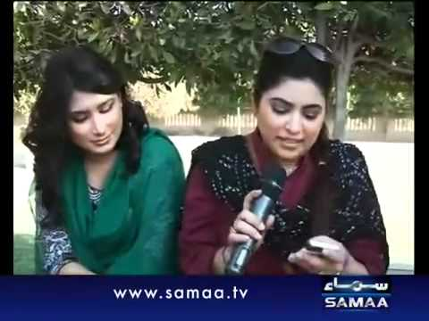 Maya Khan & Co. catching dating couples - Live on a Morning Show!