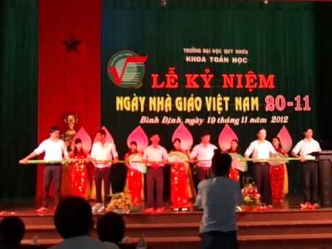 Múa Việt Nam gấm hoa - SP Toán K34 - Văn nghệ Nhà giáo Việt Nam