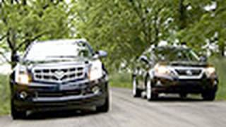 King Of The Crossovers - Cadillac SRX Vs Lexus RX350 videos