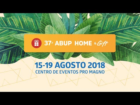 37ª ABUP HOME & GIFT - Expositores