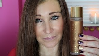 St Tropez Self Tan Luxe Dry Oil Review