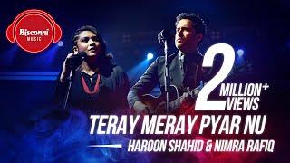 Teray Meray Pyar Nu – Haroon Shahid – Nimra Rafiq (Bisconni Music)  Video Download New Video HD