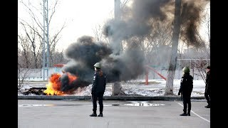 У ХНУВС відбулися заняття з протипожежної безпеки