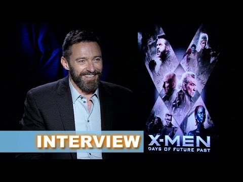 X-Men Days of Future Past Interview Today! Hugh Jackman aka Wolverine - Beyond The Trailer