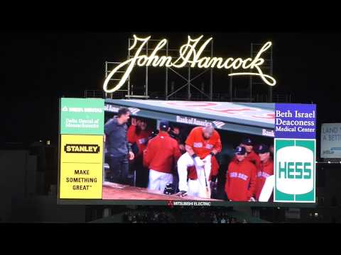 Red Sox vs Astros (Ross Home Run)