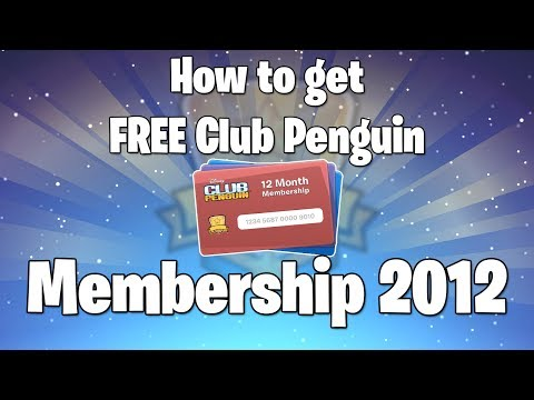 How To Get Free Club Penguin Membership 2013, UPDATED VERSION JULY 2013: http://www.youtube.com/watch?v=NrkAgoxY4oc&lc=JDRFFgjDp011aQBwGh5JkyvMCImH7DJC1kToacMPRqc Hello YouTube. I am here, showing you ho...