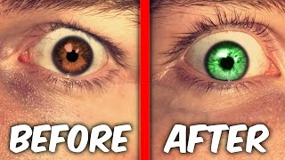 MAKE YOUR EYES CHANGE COLOR TRICK! ( WTF It Actually Works )