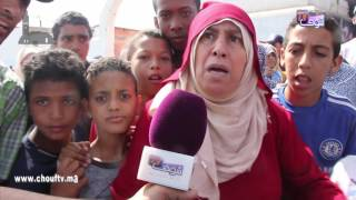 خطير و بالفيديو..ساكنة عين السبع تكشف سبب مقتل سيدة في حادثة سير خطيرة  