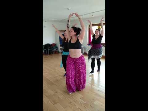Resham-Ka Tribal ATS Belly Dance Practice