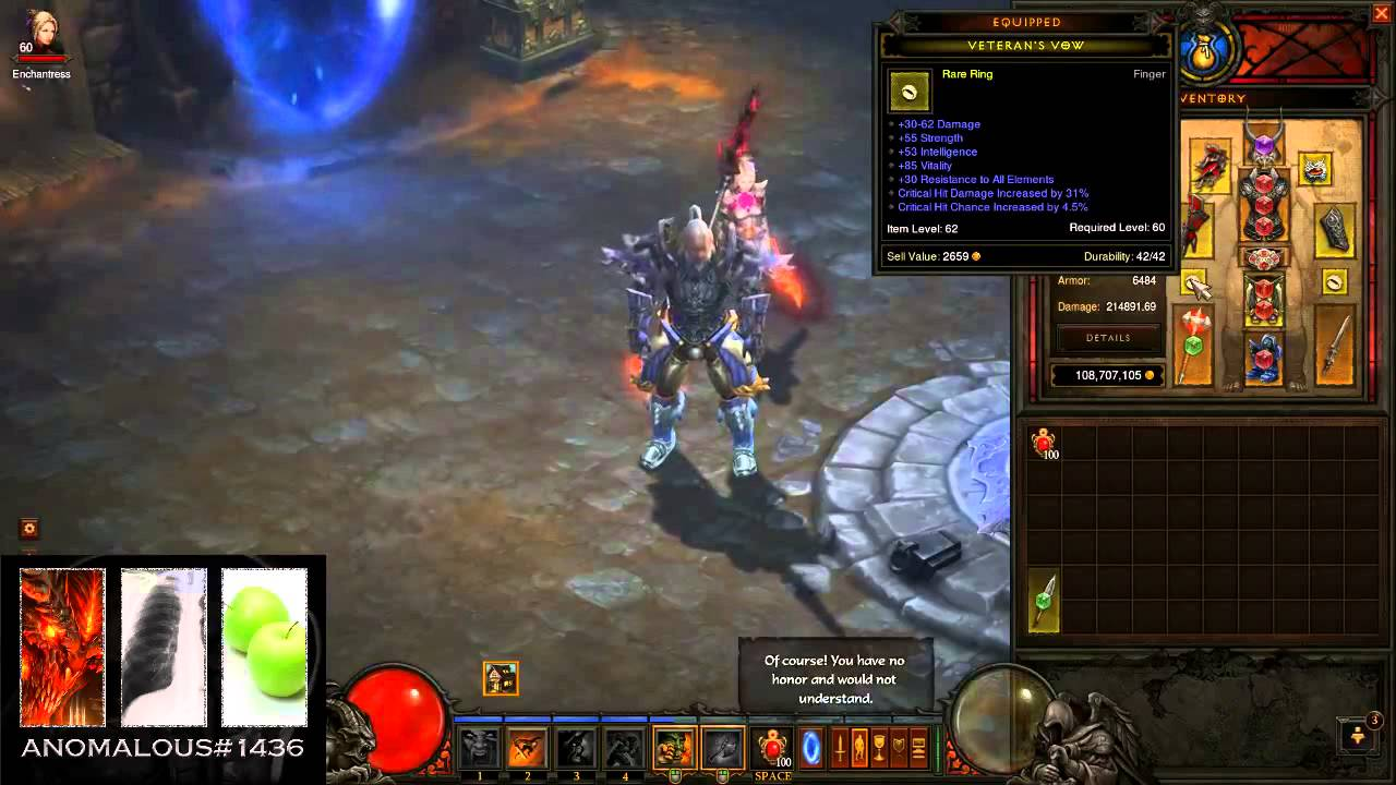 Diablo  Barbarian Weapon Throw Build