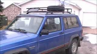 Handmade Jeep Cherokee XJ Roof Rack