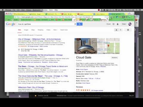 Testing Contextual Search in Chrome- Google Now Voice