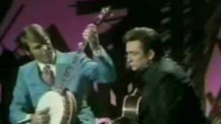 Glen Campbell & Johnny Cash Medly Of Songs & Picking