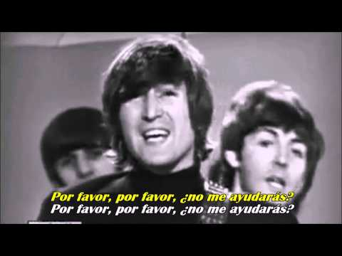 The beatles - Help (Sub. Español HD)