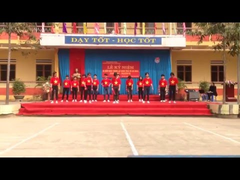 Tiết mục nhảy dân vũ ấn tượng nhất của Trường THCS Lê Hồng Phong - Lục Yên ( 9a4)