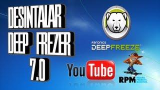 Como Desintalar O Quitar Deep Freezer 7