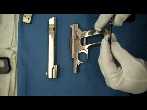 Nickle Plated Colt's 1903 Pocket Hammerless Model M Type III