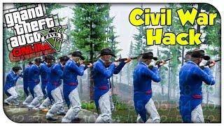 GTA 5 Custom Heist CIVIL WAR HACK! (Heists Chronicles