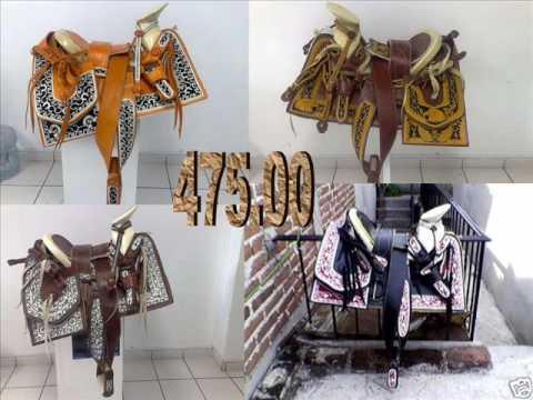 Monturas charras de venta en USA, Custom Mexican saddles for sale