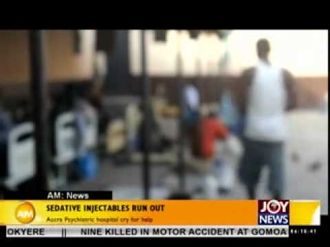 Controlling violent patients at Accra psychistric - AM news on Joy news (28-4-14)