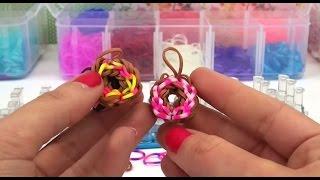 Как сделать пончик из резинок.Урок 6. - VEA MAS VIDEOS DE 92 Как вязать цветок крючком Урок 92 92 Как вязать цветок крючком Урок