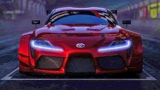 Toyota Supra (2018) Racing Concept. YouCar Car Reviews.