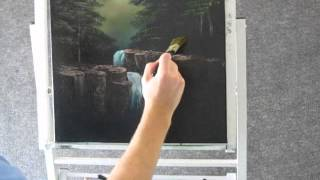 Paint With Kevin Hill Waterfall In The Woods