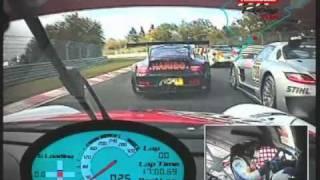 A bordo de un Mercedes SLS GT3 R