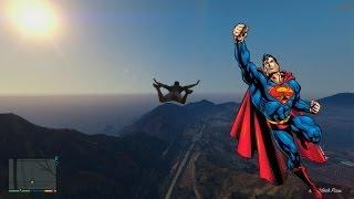 Grand Theft Auto 5 Superman Volando Truco Codigo