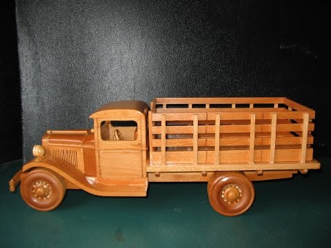 1929 Ford Stake Bed Truck Model Plans