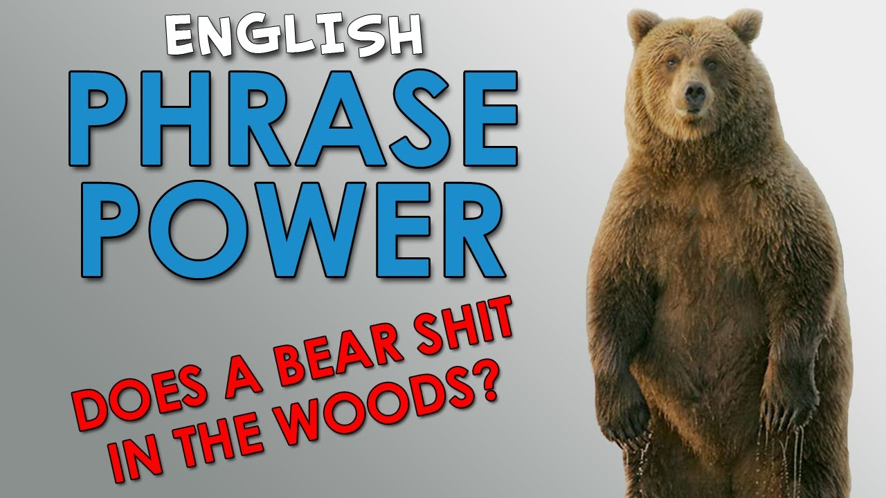 Phrase Power - 2 - Does a bear shit in the woods? - How to
