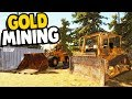 BIG SCALE MINING OPERATION Gold Rush The Game Gameplay