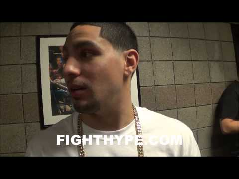 DANNY GARCIA TALKS MAYWEATHER VS. MAIDANA, KHAN VS. COLLAZO, AND FUTURE PLANS