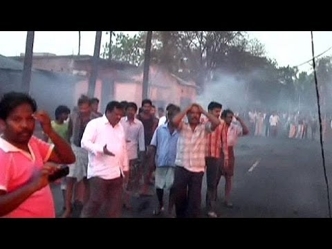 Gas pipeline explodes in India, dozens killed