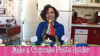 Polymer Clay Tutorial How To Make A Cupcake Photo Holder