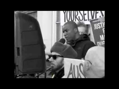 Mark Duggan Protest ... Stafford Scott Speaks
