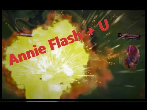 League Of Legends : Annie Flash + Ult (Funny Edit)