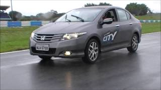 Honda City test drive