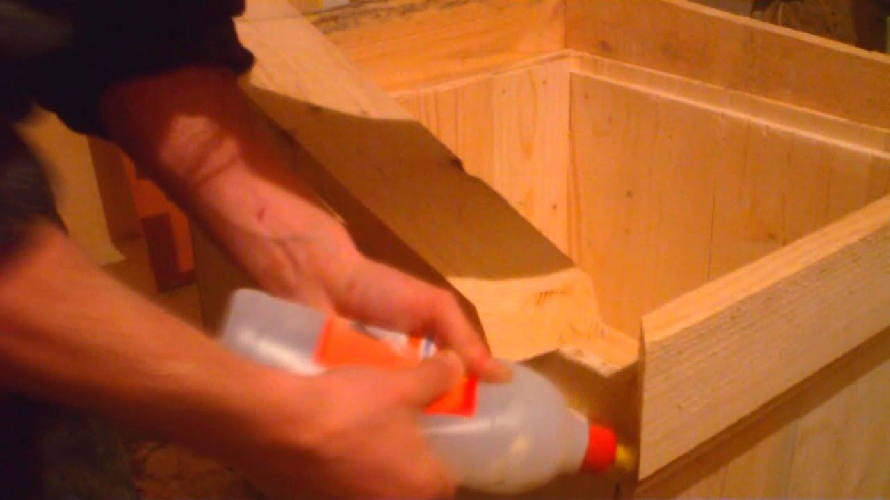 Как сделать улья из фанеры